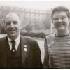 Barbara Gittings and Frank Kameny at the Pentagon, detail