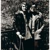 Rey/Sylvia Rivera with a friend, 1970