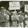 Frank Kameny and Mattachine Society of Washington members marching