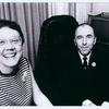 Barbara Gittings and Frank Kameny in his campaign office