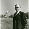 Frank Kameny in front of the Capitol Building, Washington, D.C.