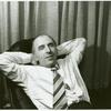 Frank Kameny relaxing in his office