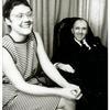 Barbara Gittings and Frank Kameny relaxing in his office