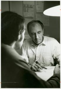 [Frank Kameny and friend, campaign photo] / Kay Tobin Lahusen