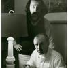 Frank Kameny and press manager Joel Martin