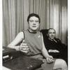 Barbara Gittings with Frank Kameny in his office