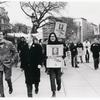 Kameny marching with supporters