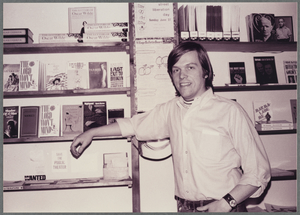 [Craig Rodwell in the Oscar Wilde Memorial Bookshop, NYC] / Kay Tobin Lahusen