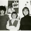 Ellen Povill, Ruth Simpson, and Eileen Webb at the Daughters of Bilitis loft space, NYC