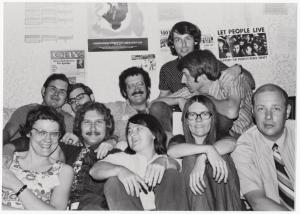 [Members of the ALA Social Responsibilities Round Table's Task Force for Gay Liberation #1] / Kay Tobin Lahusen