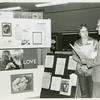 """Gittings talking with psychiatrist at the """"Gay, Proud and Healthy"""" display #2"""