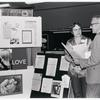 "Gittings talking with psychiatrist at the ""Gay, Proud and Healthy"" display #2"