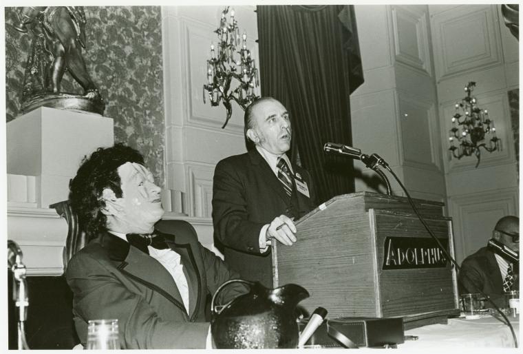 [Dr. H. Anonymous and Frank Kameny on panel]