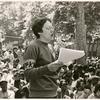 Barbara Gittings addresses the crowd #2