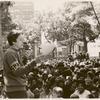 Barbara Gittings addresses the crowd #3