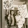 Michael McConnell, John Preston, and baby