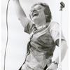 Barbara Gittings addressing rally at Washington Square, NYC, June 1973