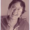 Barbara Gittings portrait, smiling