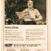 "Gittings in ""People of the NGTF"" ad"