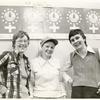 Marj McCann, Kay Whitlock, and friend in Philadelphia NOW office