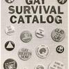 Gay Survival Catalog, front cover