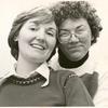 Lesbian couple #1, portrait D