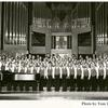 Men's chorus in unidentified church, circa late 1990's