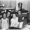 Lige Clarke, Jack Nichols, Barbara Gittings, and Kay Tobin Lahusen at publishing party, circa 1970's