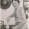 Barbara Gittings cooking
