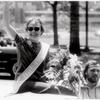 Gittings as Grand Marshall in 1973 Gay Pride Parade, Philadelphia