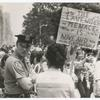 Women's Liberation Rally, Rittenhouse Square, Philadelphia, circa 1972