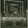 "Liberty Theatre marquee, reading: John M. Stahl's ""The Song of Life"" -- Christie Comedy -- ""Saving Sister Susie"" -- Next week: Katherine MacDonald"