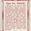 High Tor, Matlock.