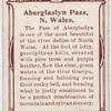 Aberglaslyn Pass, N. Wales.