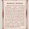 balmoral, Scotland.