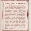 Ellen's Isle, Lock Katrine.