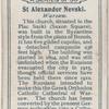 St. Alexander Nevski.