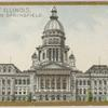 Capitol of Illinois in Springfield.