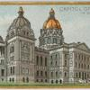 Capitol of Iowa in Des Moines.
