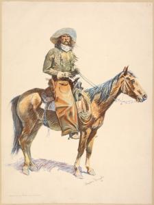 An Arizona cowboy. Digital ID: 1610053. New York Public Library