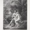 Eve donne la pomme a Adam