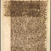 Autograph letter from John Milton to Carlo Dati, 1647.