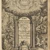 The hierarchie of the blessed angells, [Title page]