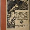 Paradise Lost by John Milton: A series of twelve illustrations, [Cover]