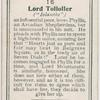 Lord Tollolier.