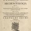 Atanasii Kircheri e Soc. Jesu. Turris Babel, sive Archontologia ... [Title page]