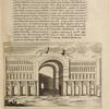 Orthographia Templi Laivan Kesra cuius rudera spectantur adhuc. Thesiphonte quæ et Seleucia dicitur ex observatione. Petri à valle.