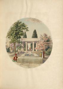 The Tomb of Hafiz at Shiraz.