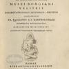 Systema Brahmanicum liturgicum, mythologicum, civile, [Title page]
