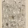 Tab. 17 et 18 c. Bellum Shrirámae contra Rávana. Sexta incarnation Dei Vishnu.